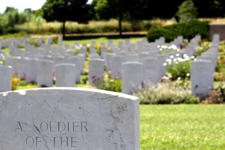 military cemetery: tomb of unknown soldier