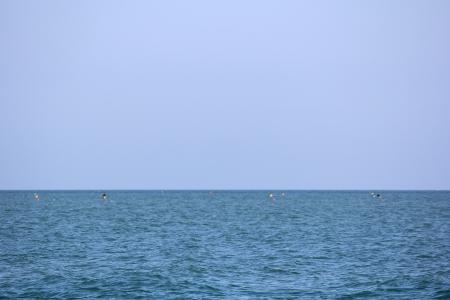 view of the sea horizon