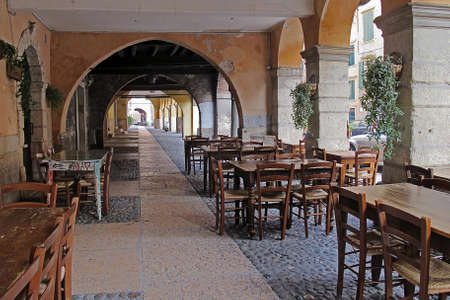 verona: The arcade of Sottoriva - Verona -