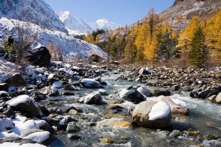 Aktru river photo