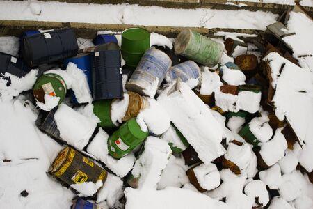 Snow-blanketed Barrels