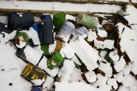 blanketed: Snow-blanketed Barrels Editorial