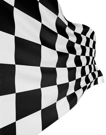 Checkered Flag Stock Photo - 1719498
