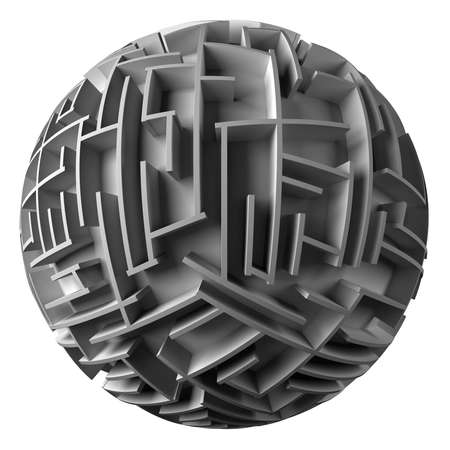 spherical maze Stock Photo - 1719496