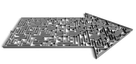 direction maze Stock Photo - 1719495