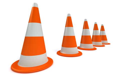 Traffic-cones Stock Photo - 1743818