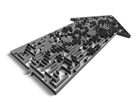 direction maze Stock Photo - 1810014