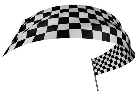 Checkered Flag Stock Photo - 1834111