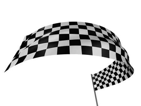 Checkered Flag Stock Photo - 1921746
