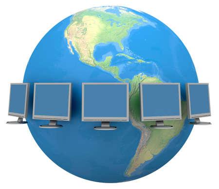 Global Communication Stock Photo - 2444378