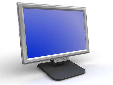 Monitor flat screen Stock Photo - 2650496