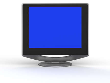 Monitor flat screen Stock Photo - 2650492