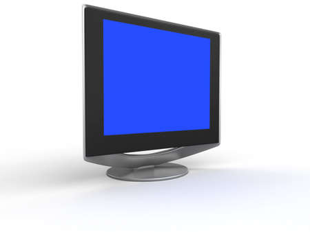 Monitor flat screen Stock Photo - 2650490