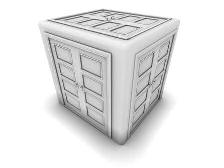 doorstep: The Doors cube