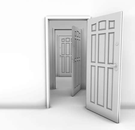 doorstep: The close Door