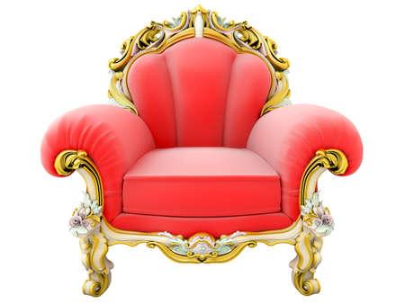 King armchair Stock Photo
