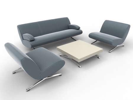 meubles de bureau: mobilier de bureau Banque d'images