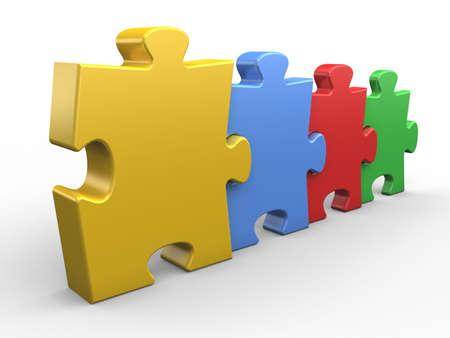 sencillez: Puzzle de conexión