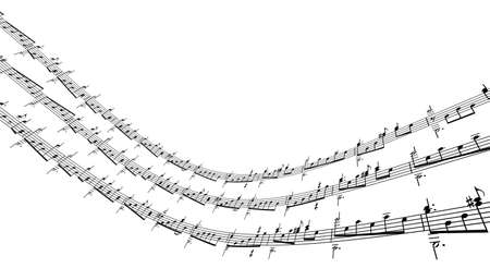 3d music notes Stock Photo - 5186802
