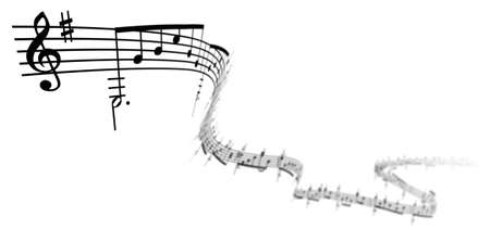 3d music notes Stock Photo - 5974994