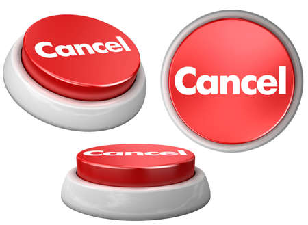 button Cancel Stock Photo - 5975003
