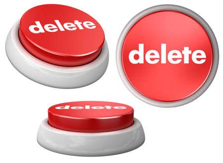 button delete Stock Photo - 5975050