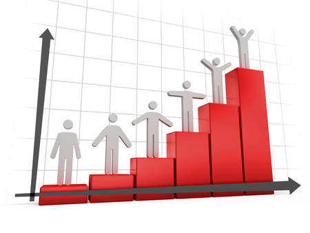 Business Graph  Stock Photo - 5975063