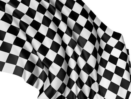 Checkered Flag Stock Photo - 6238502