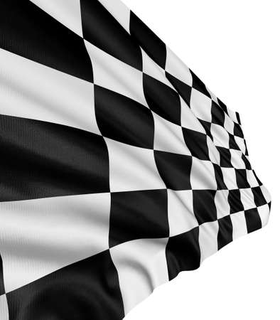 Checkered Flag Stock Photo - 6851558