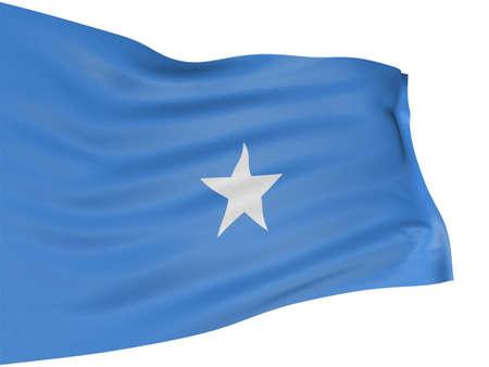 somali: Bandera de Somalia 3D