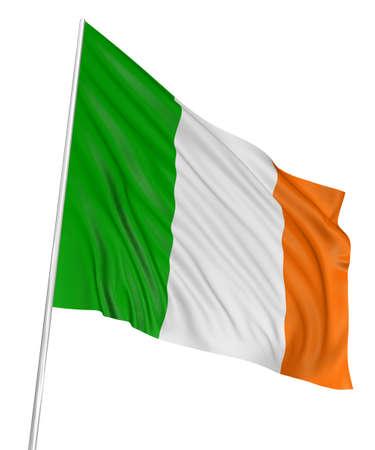 3D Irish flag Stock Photo - 7932574