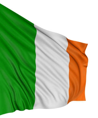 3D Irish flag Stock Photo - 7932629