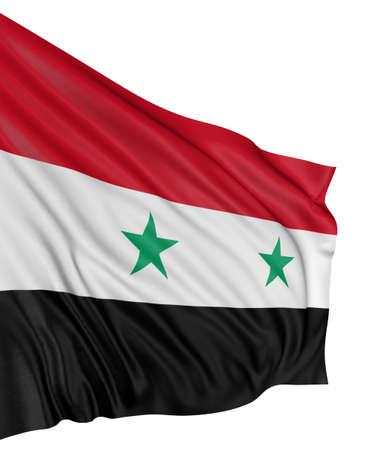 Syryjski: 3D Flaga syryjski