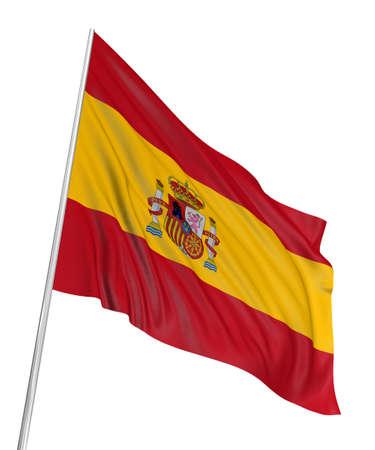 3D Spanish flag