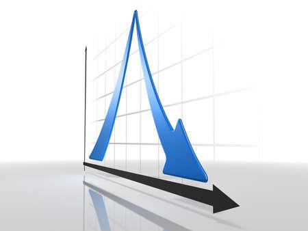 diminishing point: 3d Diagram