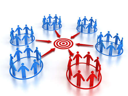 standing out of the crowd: Target Market