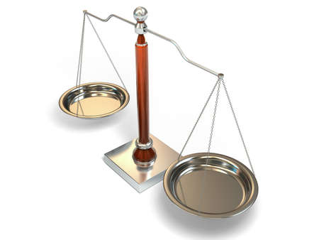 Balance scale Stock Photo - 13368072