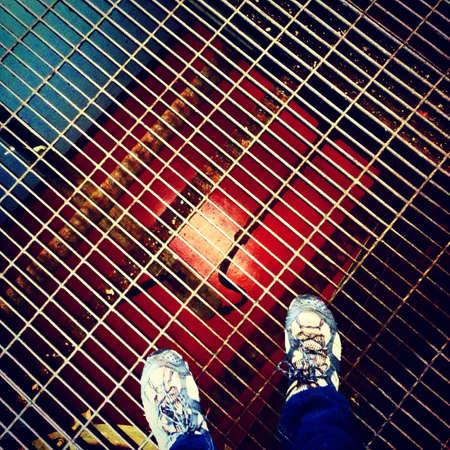 mundane: Mundane angles inside power plant Stock Photo