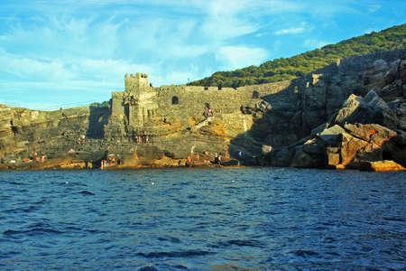 Portovenere : 오래된 벽