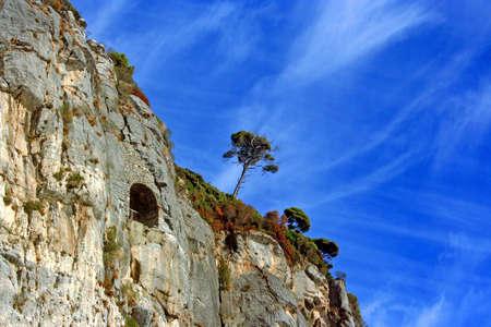 팔 마리아 섬의 바위 해안