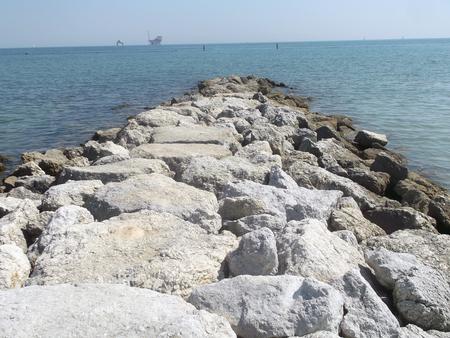 di: Sea in Ravenna, Italy. Lido di Dante