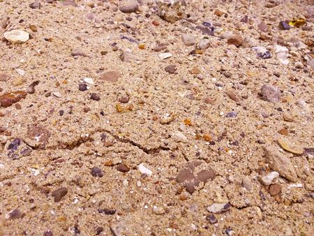 Sand gravel texture