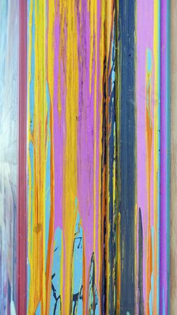 Close up of colorful sloppy paint streaks. Vertical. Reklamní fotografie
