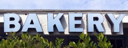 Big BAKERY sign.