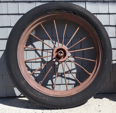 collectible: Vintage tire.