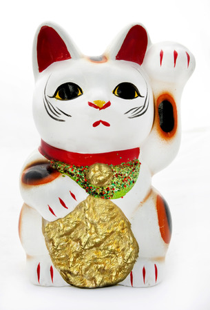 Lucky cat good fortune toy.
