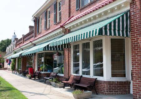 Main Street small town Americana.