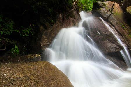 Beautiful nature of Kathu Waterfall at Phuket province Thailand.