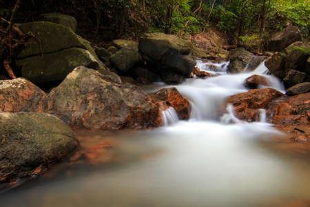 thailand  natural  travel  cool  waterfall  water  nature  phuket  rainforest  beaty  texture  background  kathu  holiday