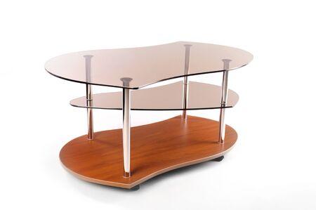 Glass coffee table Stock Photo - 17867042